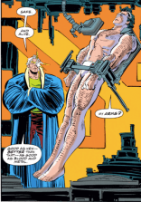 """I also got you some unflattering but comfortable briefs. (Cable: Blood and Metal #2)"